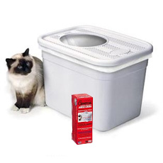 Clevercat Top Entry Litter Box u0026 Liners  sc 1 st  MightyPets.com & Clevercat Top Entry Litter Box u0026 Liners. Lowest Prices! Aboutintivar.Com