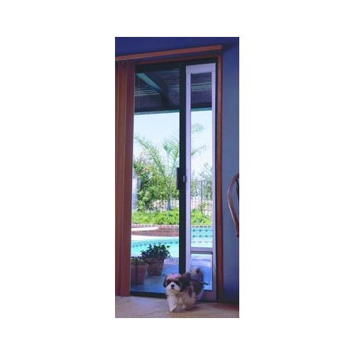 Dual pane vinyl patio pet doors patio design ideas for Ideal pet doors