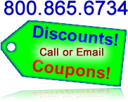Specials, Coupons, Discounts, Email