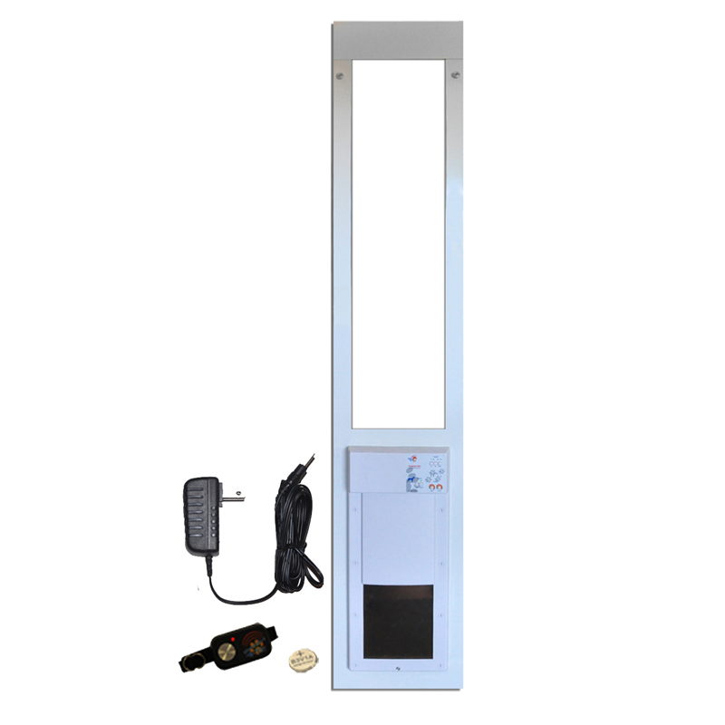 Hi Tech Power Pet Model PX1 E Glass Fully Automatic Patio Door   MEDIUM