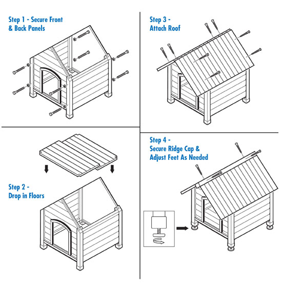 Precision pet dog house outback country lodge luxury dog house